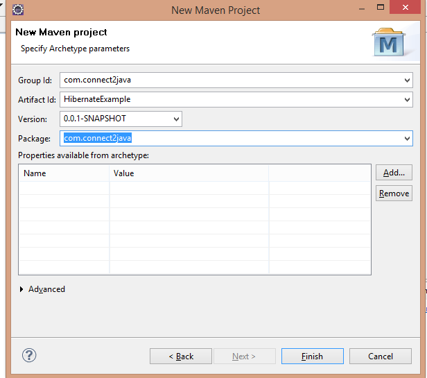 Create-Maven-Project-Choose-Maven-Ar2